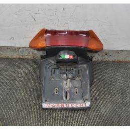 Fanale Stop posteriore + portatarga Yamaha T-max dal 2001 al 2007