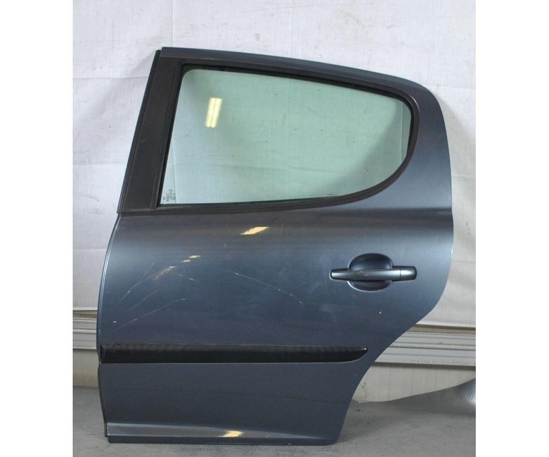 Portiera sportello posteriore SX Peugeot 207  dal 2006 al 2015