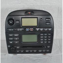 Controllo comando clima + Autoradio Jaguar X Type  dal 2001 al 2009  Cod.1X4H18C612BK